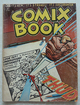 Comix Book No 1 - 1974 - Instigated by Stan Lee - Underground Comic