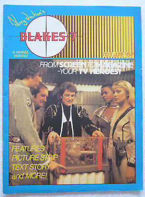 Terry Nation's - Blakes 7 - Vol:1 No: 9 - June 1982 - TV Series Magazine
