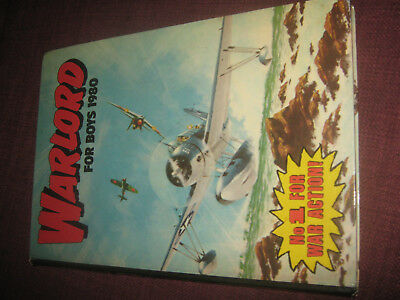 Warlord For Boys 1980 - Vintage UK Annual