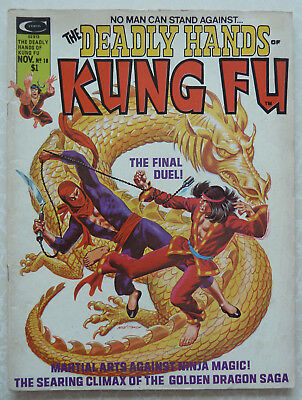 The Deadly Hands of Kung Fu Issue #18 1975 - The Final Duel