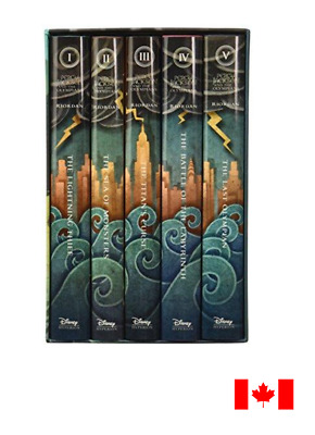 Percy Jackson And The Olympians: 5 Book (Hardcover Boxed Set)