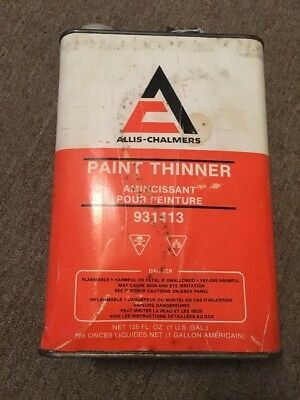 1 Gallon Allis Chalmers Paint Thinner Can