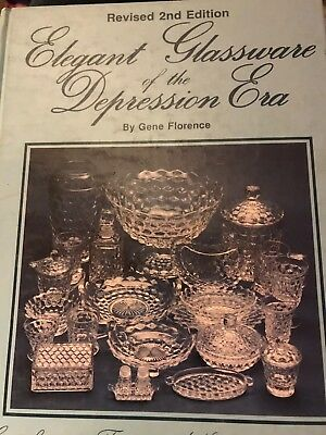 Collector  Book, Elegant Glassware of the Depression Era, Florence, 2nd Edition