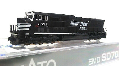 New Kato 176 8607-1 KOBO TCS DCC Equip SD70M Norfolk Southern Rd# 2592