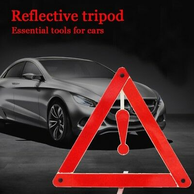 Car Tripod Warning Sign Annual Inspection Special Dangerous Fail Safe Stop Sign
