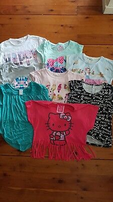 Bulk Lot Of Girls Summer Tops Size 8