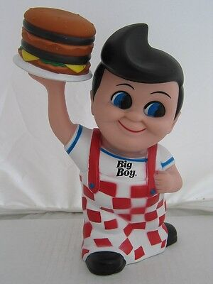 2010 Frisch's, Bobs or Shoneys Big Boy Coin Bank with Hamburger in gift box