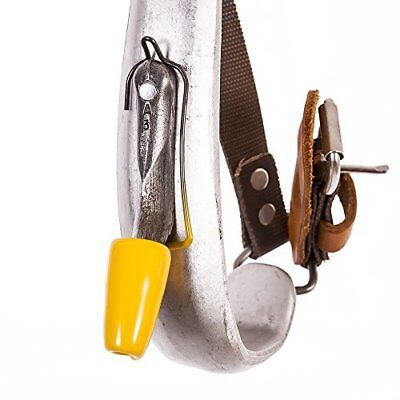 Gaff Guard, Yellow, For Climbers with Replaceable Gaffs, Pair