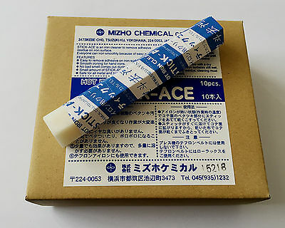 New 1pc STICK-ACE Iron Cleaner Cleaning Cream 50g Made in Japan