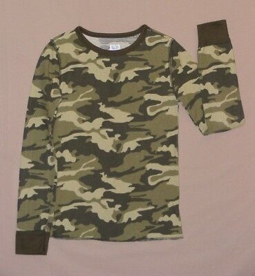 Boy's Camouflage Thermal Undershirt, Size XL (14/16), NEW w/o Tags