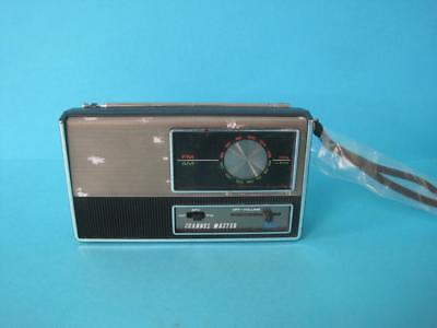 Awesome Vintage Channel Master Model 6239 Fm-Am 2 Band 6 Transistor Radio Rare