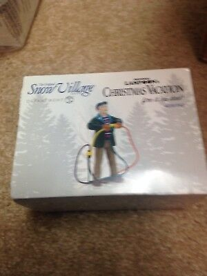 Department 56 Christmas Vacation Fire It Up Dad Accessory Figurine 4030742 New