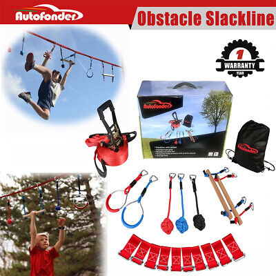 Obstacle Slackline Intro Kitl/NinjaLine Ninja Line Versatility Moving Obstacle