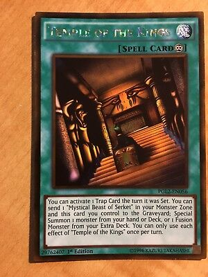 YuGiOh Temple of the Kings - PGL2-EN056 - Gold Rare - 1st Edition Near Mint