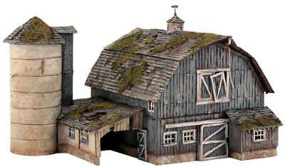 Woodland Scenics Rustic Barn - HO Scale Kit 724771051909