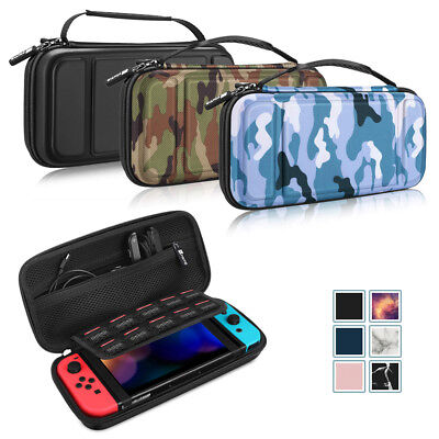 For Nintendo Switch Travel Carry Case Bag Shockproof Hard Shell Portable Pouch