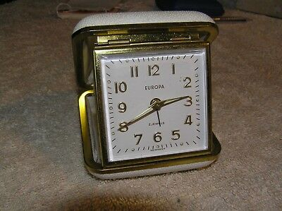 Europa Travel Clock Not Tested as is