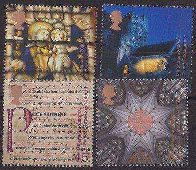z1165) Great Britain. 2000 MNH SG 2170 to 2177 Millennium Spirit & Faith