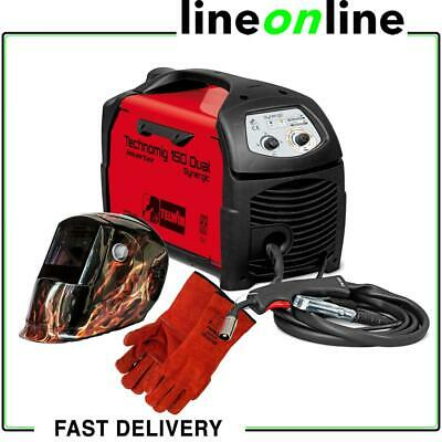 Telwin Technomig 150 Dual Synergic Inverter Mig-Mag Welder 150A