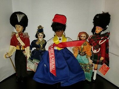 Mixed Lot Of dolls, 4 Vintage, Gambia, peggy nisbet, and others Lot 2