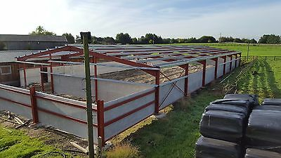Horse arena with concrete panels  42m x 18.2m x4m