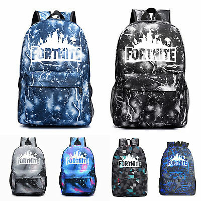 Adults Teenager Fortnite Battle Royale Backpack Rucksack School Hiking Bag