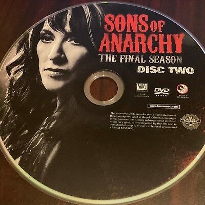 Sons of Anarchy The Final Season (DVD) REPLACEMENT DISC #2