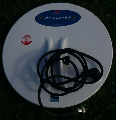 """Minelab 11"""" GP Series Double D Coil Brand New For All GPX,GP,&SD Detectors"""