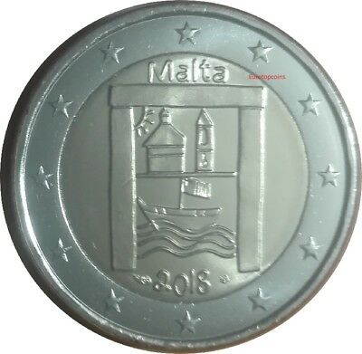 #RM# 2 EURO COMMEMORATIVE MALTE 2018 - Héritage culturel *MINT MARK PESSAC*