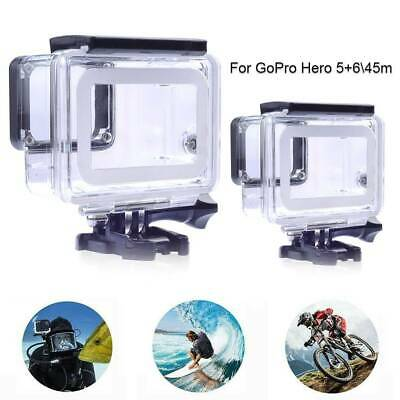 For GoPro Hero 5+6 Black Camera Accessories 45m Diving Waterproof Housing Case