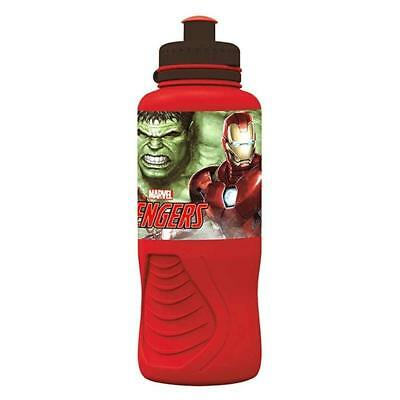 Childrens Kids Marvel Avengers Sports Drinks Water Bottle HULK IRONMAN THOR