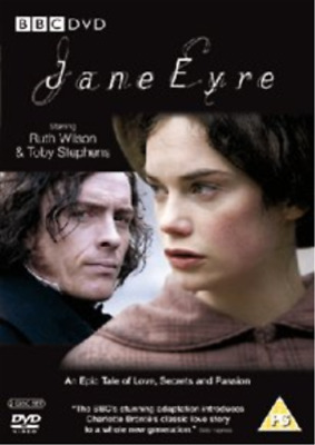 Ruth Wilson, Toby Stephens-Jane Eyre DVD NUOVO