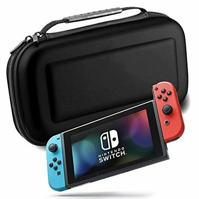 Travel Zipper Bag Carrying Case With Handle For Nintendo Switch Console Joy-Con
