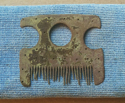 An ancient comb for the beard and hair