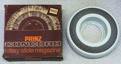 PRINZ CONCORD Rotary 35mm slide magazine by DIXONS.