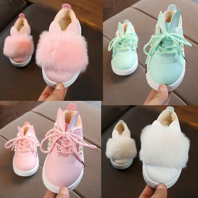 2019 Winter Baby Infant Shoes Girls Kids Sneakers Casual Warm Cotton Shoes Size