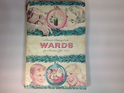 1959 Montgomery Wards Christmas Book catalog TOYS, Marx, train.DOLLS 555 PGS.