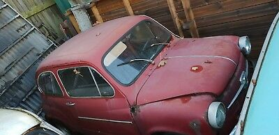 Fiat 600 for parts only body totaly rotten