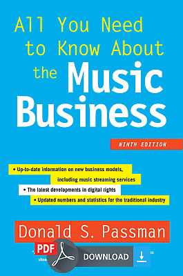 All You Need to Know about the Music Business 9 Edition [PDF & EPUB] EB00K