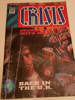 2000AD CRISIS presented free with NME