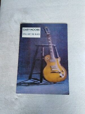Gary Moore Still Got The Blues Tour Guest Staring Albert Collins Signed Tour...