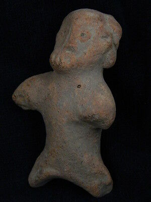 Ancient Bactrian C.300 BC Teracotta Figure ###R589###