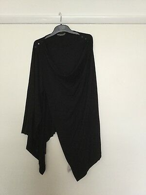Black Multi Function Nursing Wrap