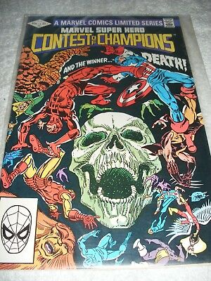 Marvel super heroes Contest of champions Aug #31982