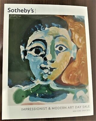 Sothebys Impressionist & Modern Art Day Sale New York May 3 2012 Auction Catalog
