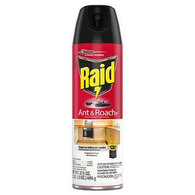 Fragrance Free Ant & Roach Killer, 17.5 oz Aerosol Can, 12/Carton