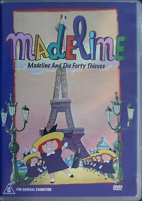 Madeline - Madeline And The Forty Thieves (DVD, 2005)