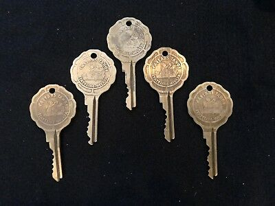 Vintage Caesars Palace Stateline Nevada Hotel Room Lot Of 5 Keys Tahoe Casino #2