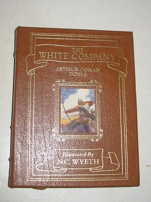 Easton Press The White Company by Arthur Conan Doyle Illustrated by N.C. Wyeth
