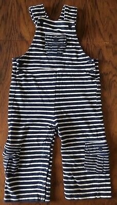 *Jojo Maman Bebe* 18-24 months striped cotton Dungarees